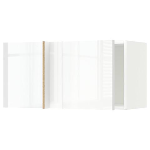Шкаф навесной угловой МЕТОД белый артикуль № 692.238.14 в наличии. Online каталог ИКЕА РБ. Быстрая доставка и соборка.