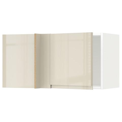 Шкаф навесной угловой МЕТОД белый артикуль № 892.243.51 в наличии. Интернет магазин IKEA РБ. Недорогая доставка и установка.