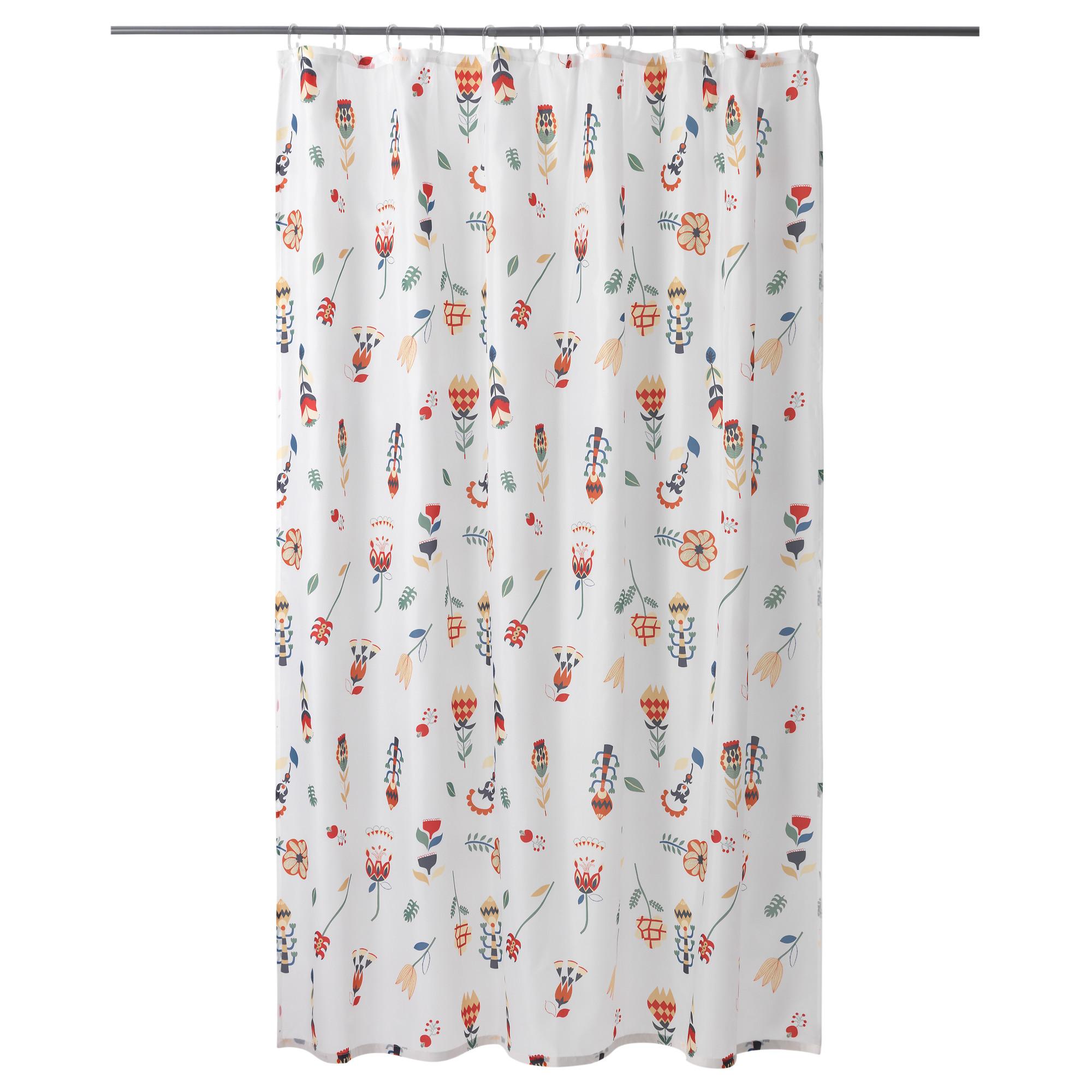 Штора для ванной РОЗЕНФИББЛА белый артикуль № 603.705.69 в наличии. Онлайн сайт IKEA Беларусь. Недорогая доставка и монтаж.