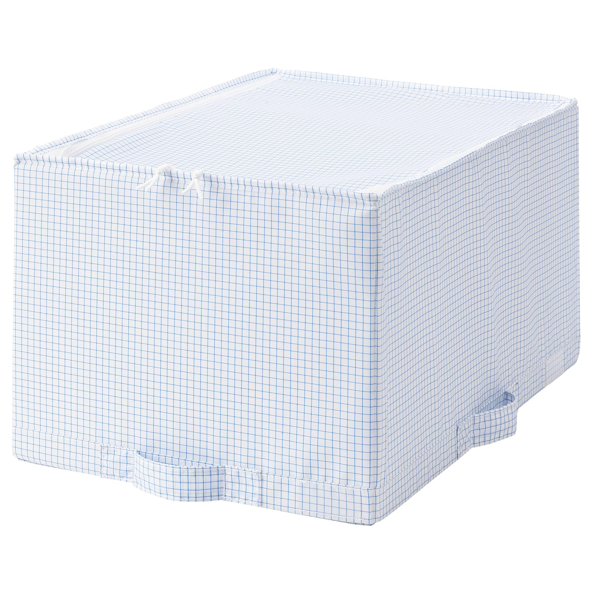 Сумка для хранения СТУК белый/синий артикуль № 503.744.93 в наличии. Online каталог IKEA РБ. Недорогая доставка и соборка.