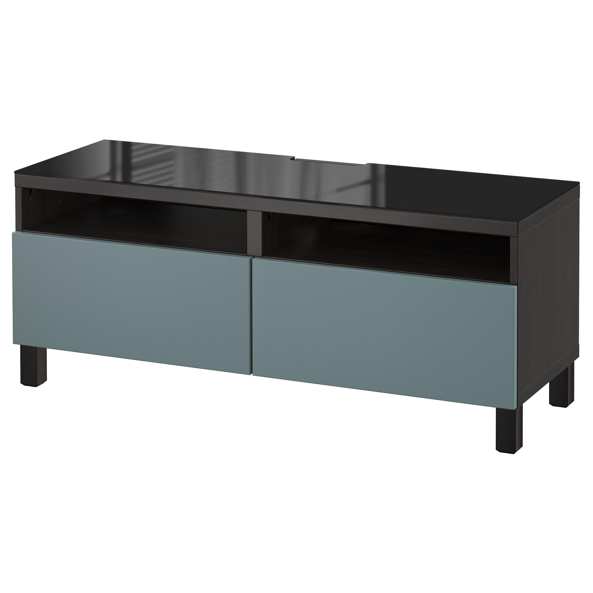 Тумба для ТВ с ящиками БЕСТО артикуль № 892.448.82 в наличии. Онлайн каталог IKEA РБ. Недорогая доставка и соборка.