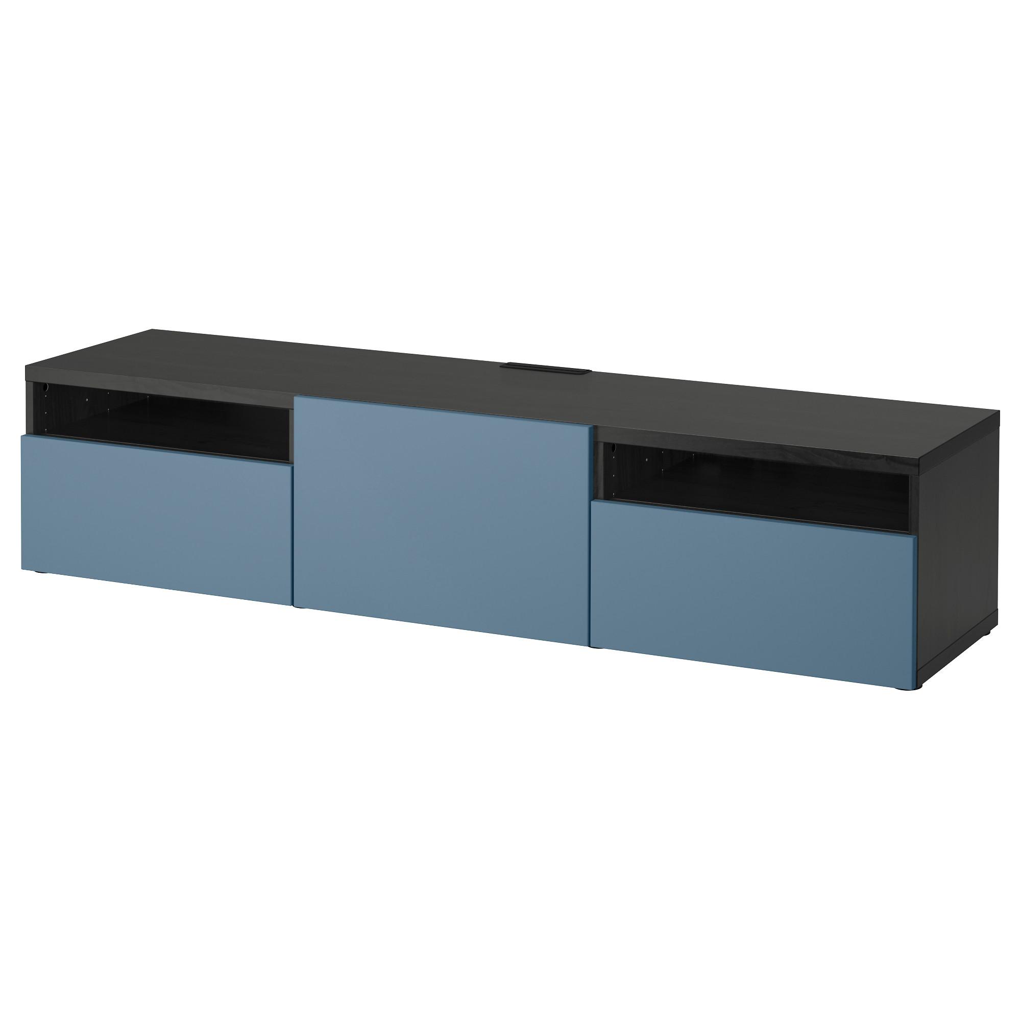 Тумба для ТВ с ящиками БЕСТО темно-синий артикуль № 892.503.83 в наличии. Онлайн каталог IKEA Республика Беларусь. Недорогая доставка и соборка.