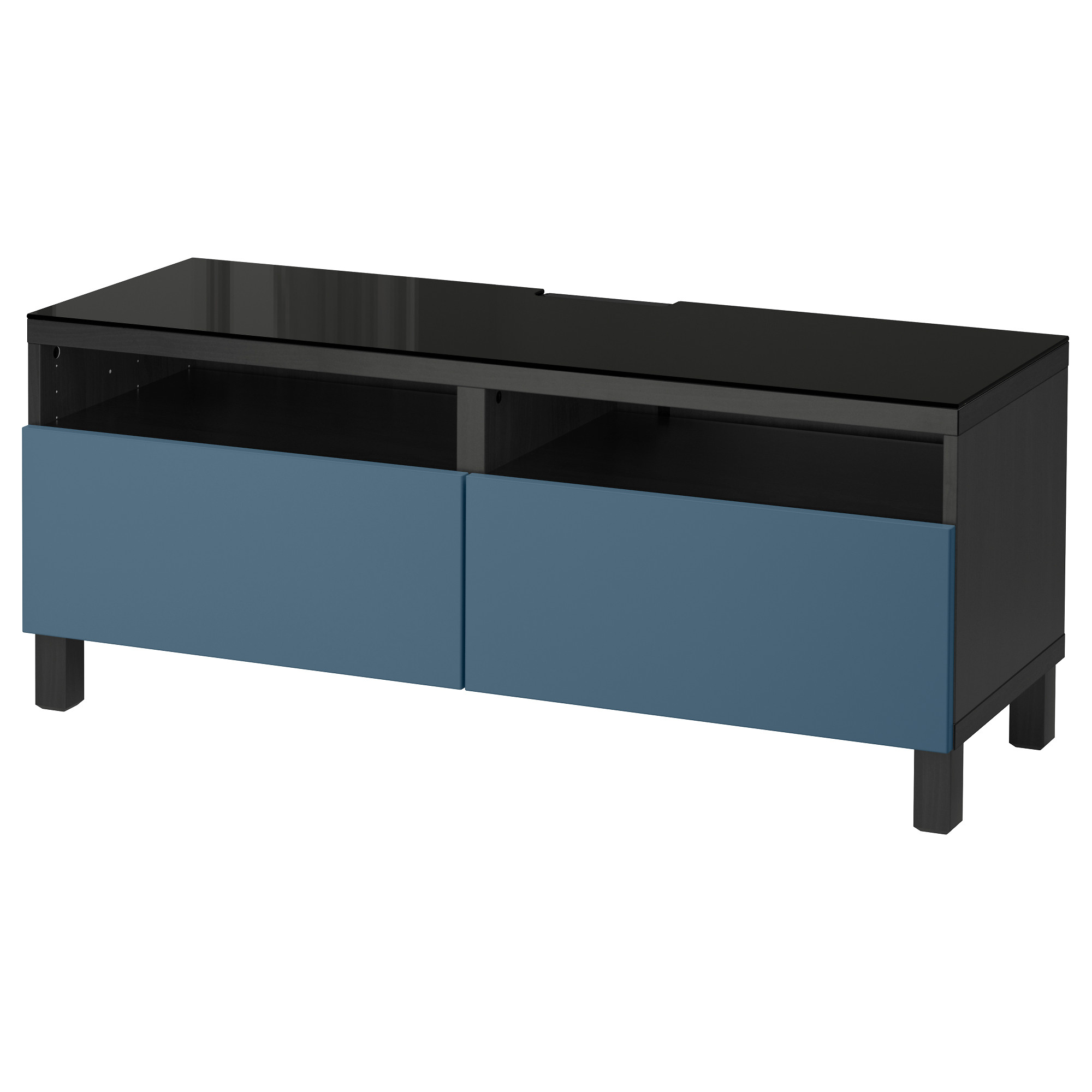 Тумба для ТВ с ящиками БЕСТО темно-синий артикуль № 992.448.86 в наличии. Онлайн каталог IKEA Беларусь. Быстрая доставка и монтаж.