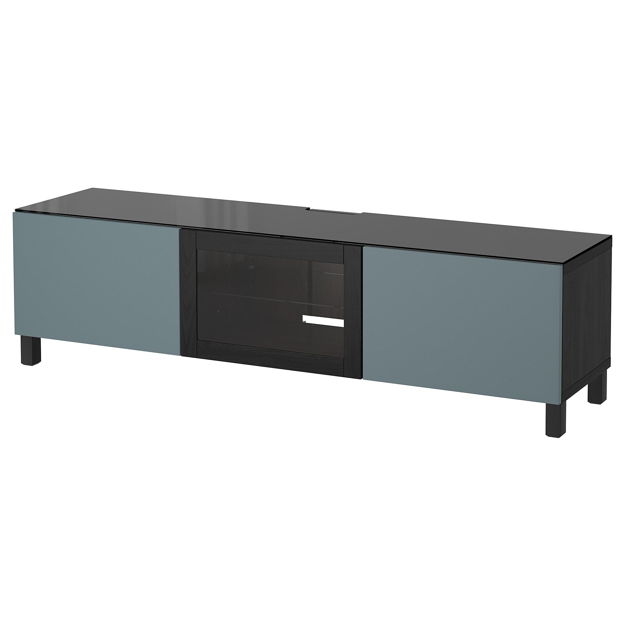 Тумба под ТВ, с дверцами БЕСТО артикуль № 392.450.06 в наличии. Онлайн сайт IKEA РБ. Недорогая доставка и соборка.