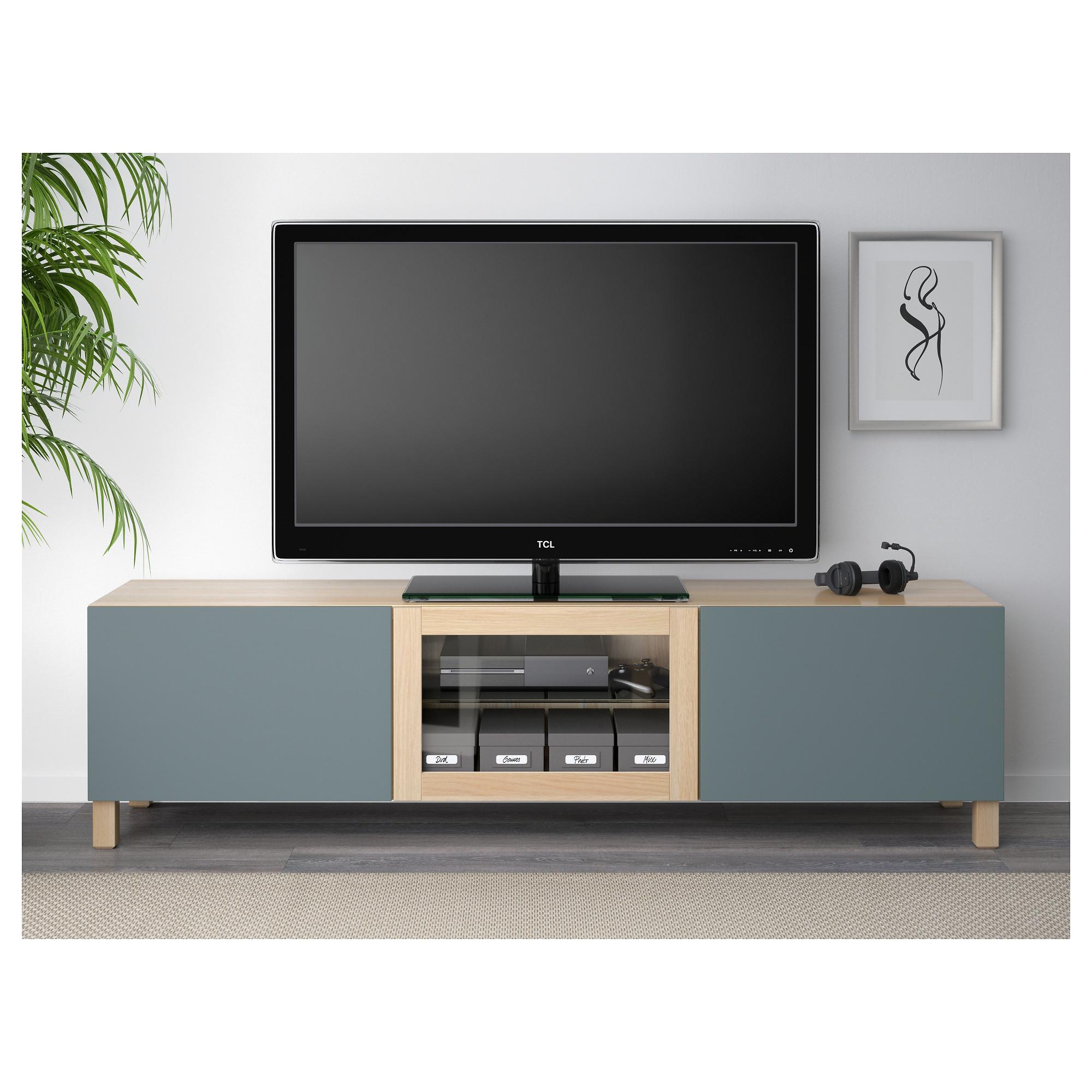 Тумба под ТВ с ящиками и дверцей БЕСТО артикуль № 792.506.99 в наличии. Online каталог IKEA РБ. Недорогая доставка и установка.