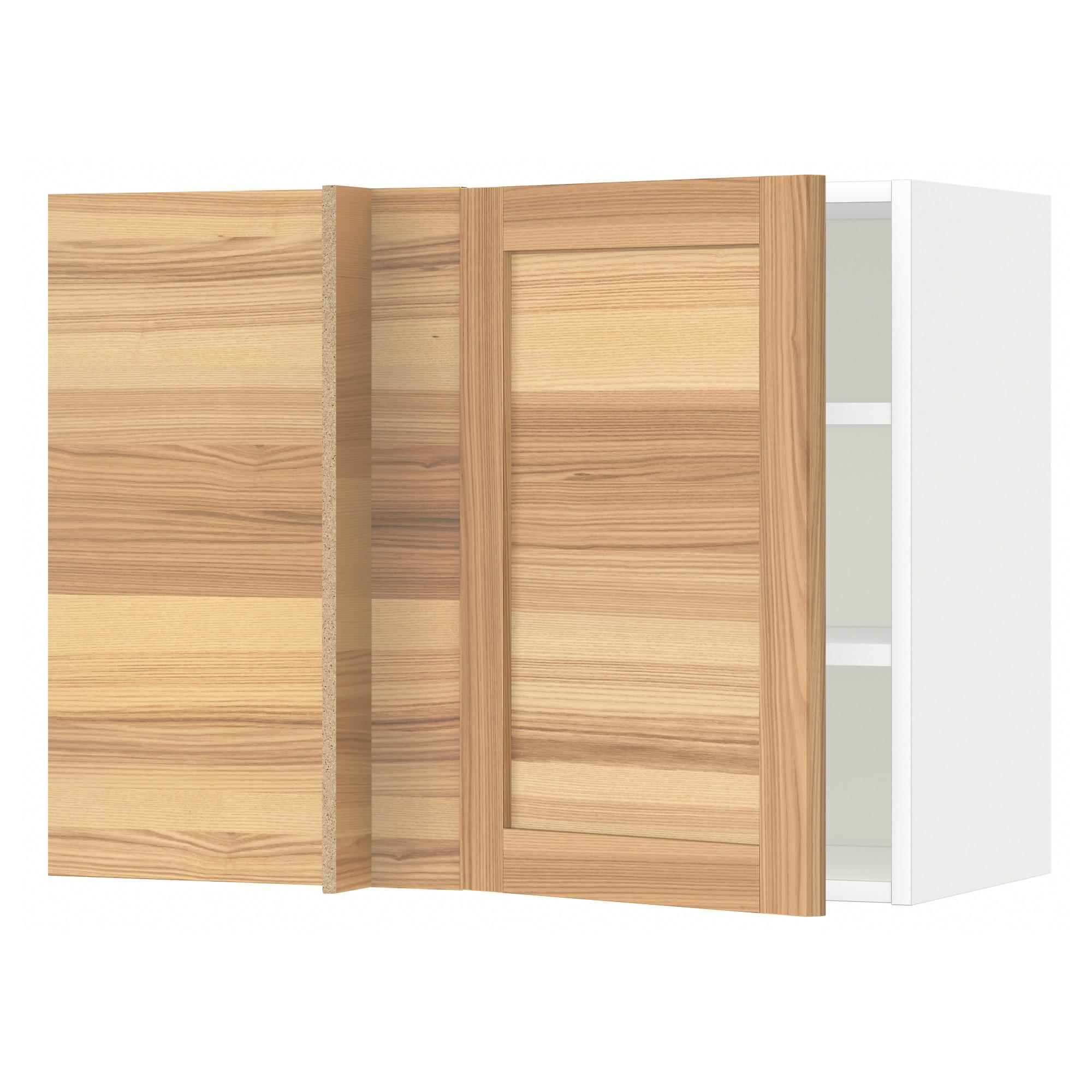 Угловой навесной шкаф с полками МЕТОД белый артикуль № 092.260.47 в наличии. Онлайн магазин IKEA РБ. Недорогая доставка и соборка.