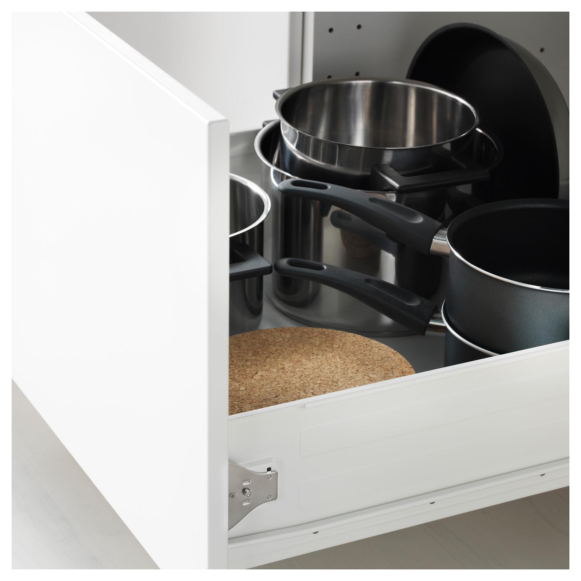 Высокий шкаф для духовки, дверца, 4 ящика МЕТОД / ФОРВАРА черный артикуль № 192.674.38 в наличии. Интернет магазин IKEA Республика Беларусь. Недорогая доставка и монтаж.