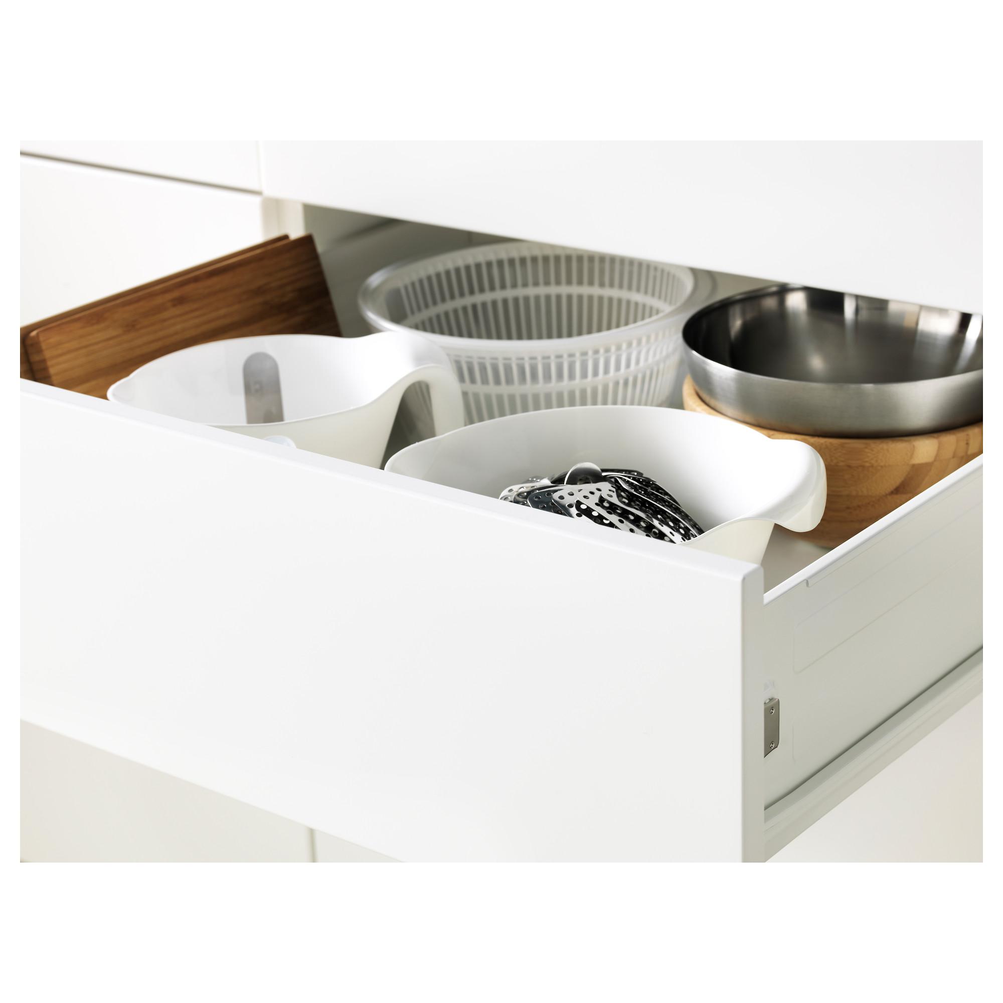 Высокий шкаф для духовки/СВЧ дверца, 3 ящика МЕТОД / ФОРВАРА черный артикуль № 392.674.42 в наличии. Онлайн магазин IKEA Минск. Быстрая доставка и соборка.