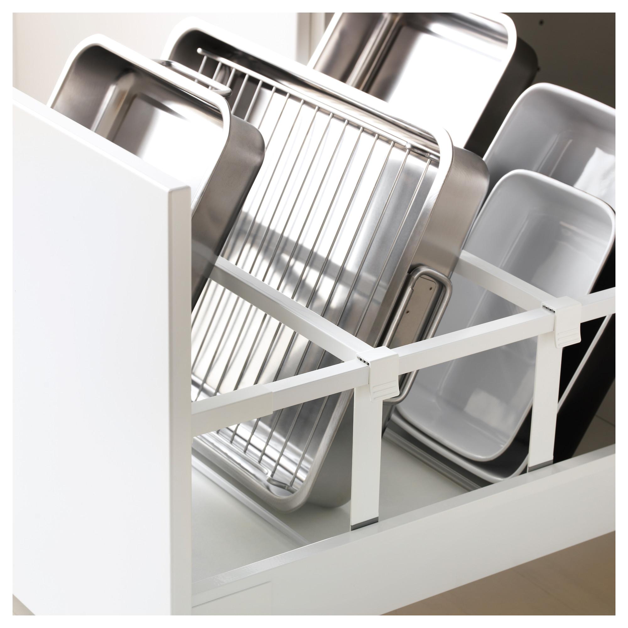 Высокий шкаф для холодильника, с дверцами, 3 ящика МЕТОД / МАКСИМЕРА белый артикуль № 692.378.68 в наличии. Online сайт ИКЕА РБ. Быстрая доставка и монтаж.
