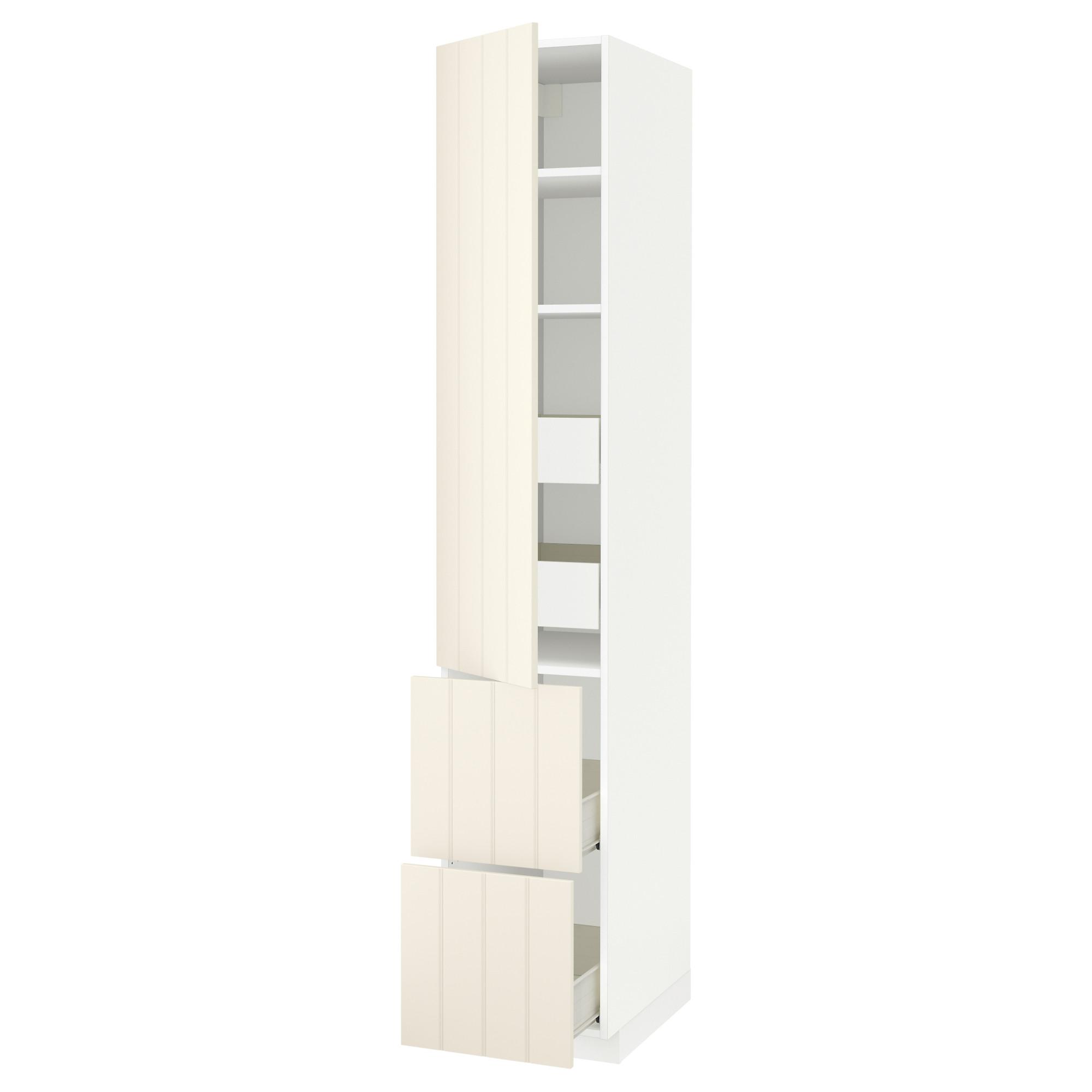 Высокий шкаф + полки, 4 ящика, 2 дверцы МЕТОД / ФОРВАРА белый артикуль № 492.619.39 в наличии. Интернет магазин IKEA Беларусь. Быстрая доставка и монтаж.