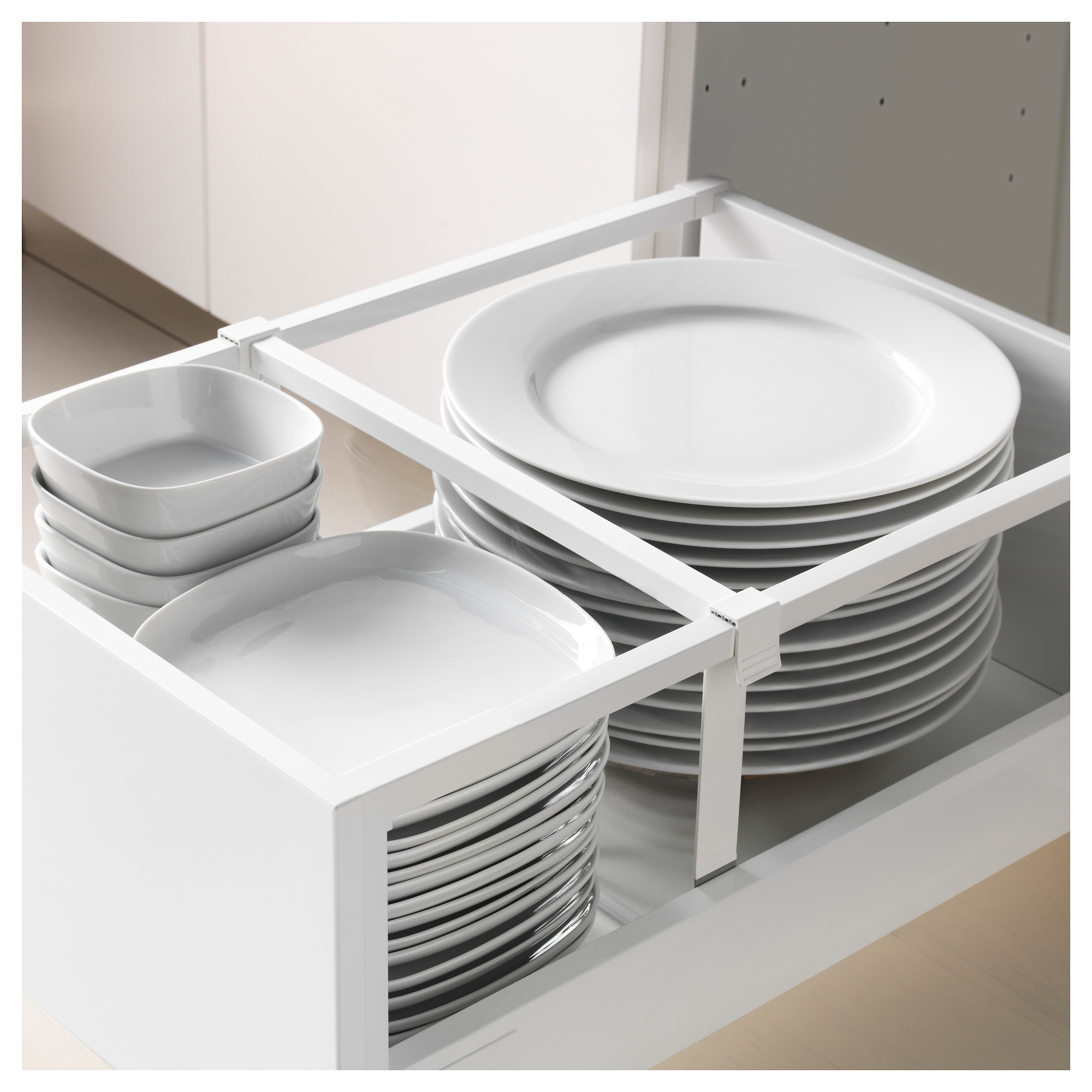 Высокий шкаф + полки, 5 ящиков, 2 дверцы, 2 фронтальных МЕТОД / МАКСИМЕРА белый артикуль № 292.357.05 в наличии. Онлайн каталог IKEA Беларусь. Недорогая доставка и установка.