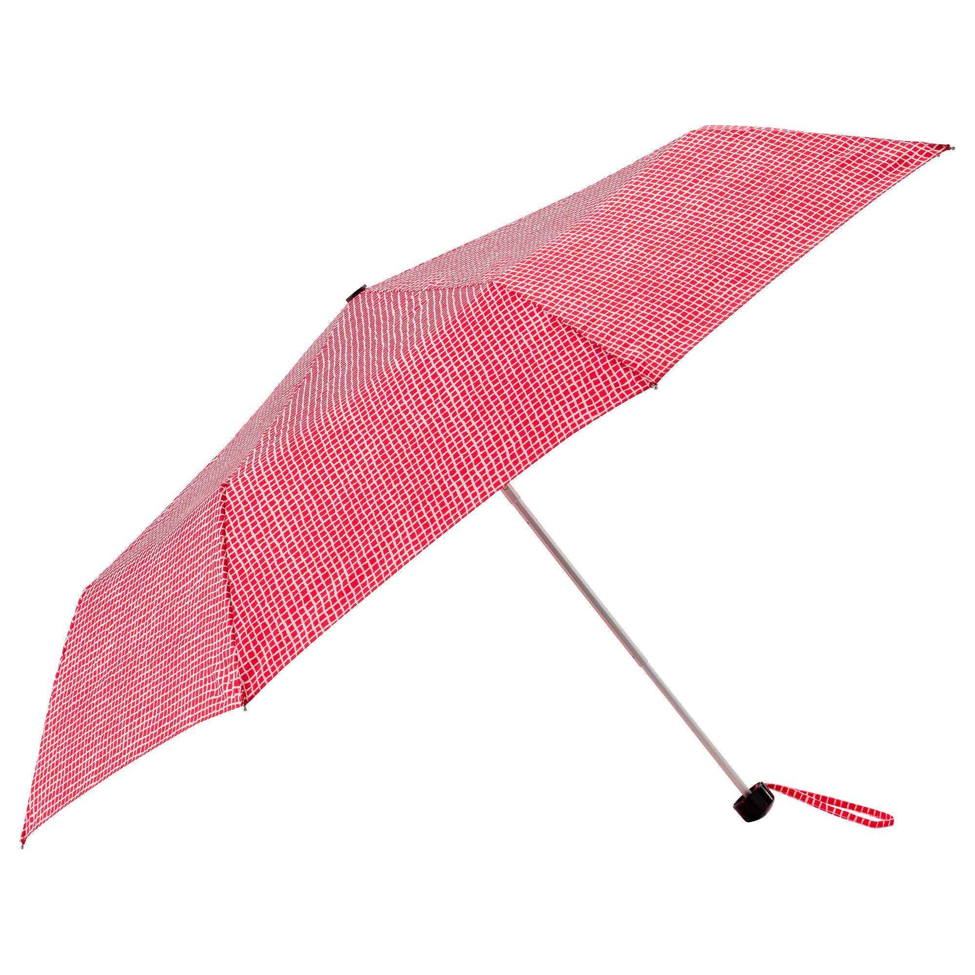 Зонт КНЭЛЛА красный/белый артикуль № 803.791.30 в наличии. Online каталог ИКЕА РБ. Быстрая доставка и монтаж.