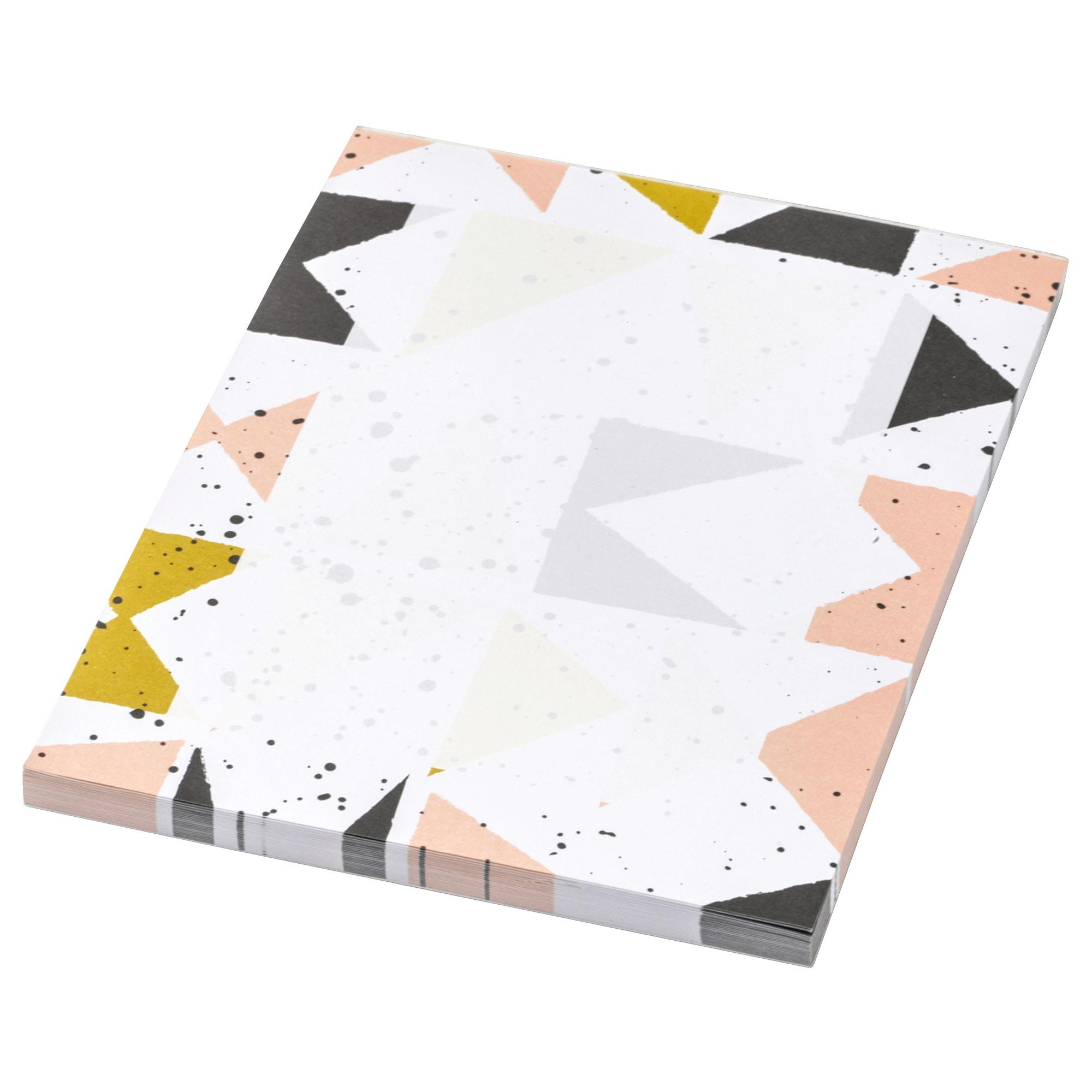 Блокнот для записей ЛАНКМОЙ черный артикуль № 704.022.30 в наличии. Онлайн сайт IKEA РБ. Недорогая доставка и установка.