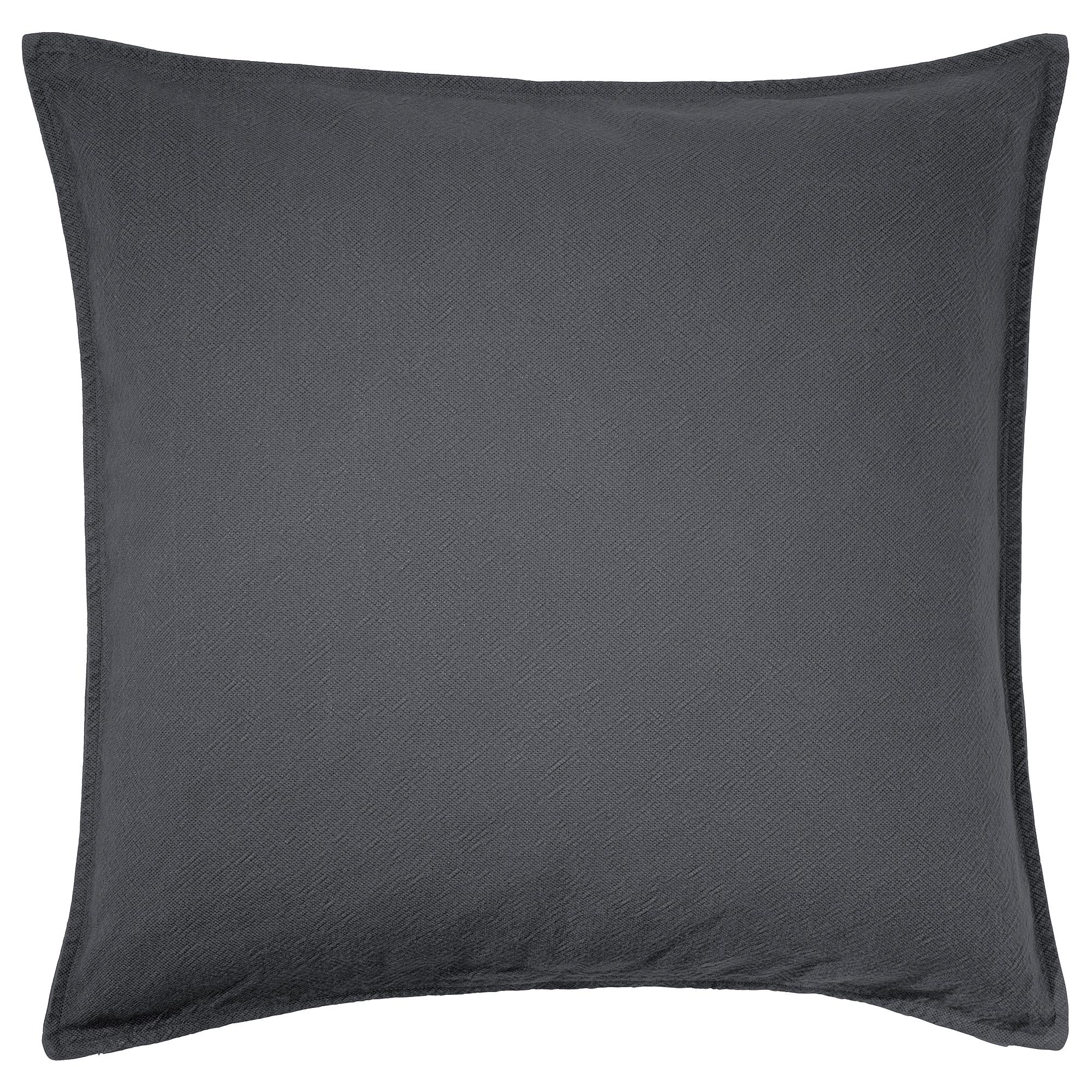 Чехол на подушку ЙОФРИД сине-серый темный артикуль № 203.957.79 в наличии. Online сайт IKEA Минск. Быстрая доставка и соборка.