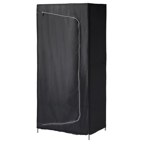 Гардероб БРЕЙМ черный артикуль № 403.943.78 в наличии. Интернет сайт IKEA Республика Беларусь. Быстрая доставка и монтаж.