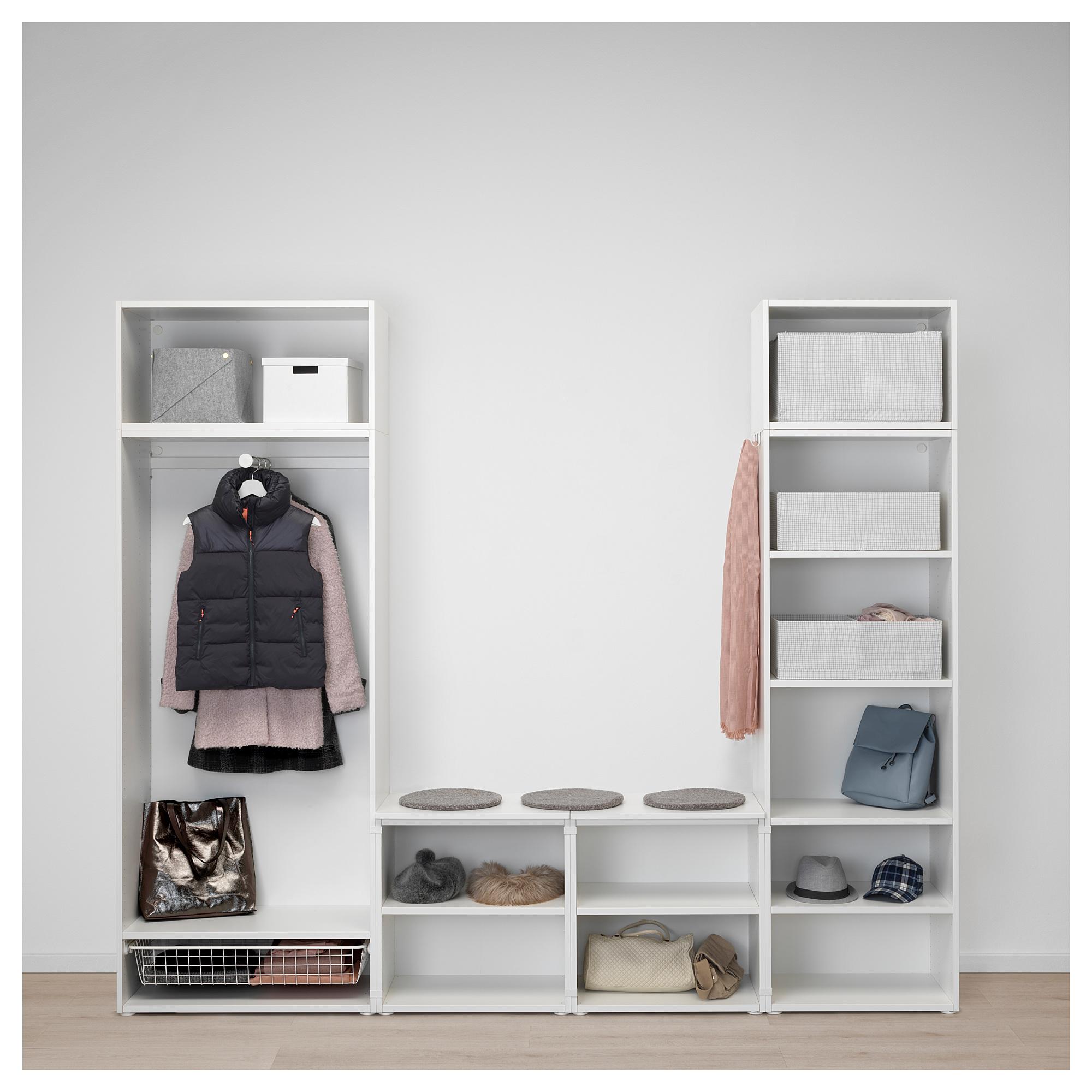 Гардероб ОПХУС белый артикуль № 892.483.28 в наличии. Онлайн каталог IKEA РБ. Быстрая доставка и установка.