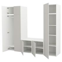 Гардероб ОПХУС светло-серый артикуль № 992.520.89 в наличии. Online магазин IKEA РБ. Недорогая доставка и установка.