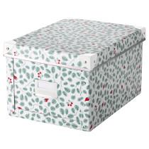 Коробка с крышкой ФЬЕЛЛА зеленый артикуль № 603.991.91 в наличии. Online магазин IKEA Беларусь. Недорогая доставка и монтаж.