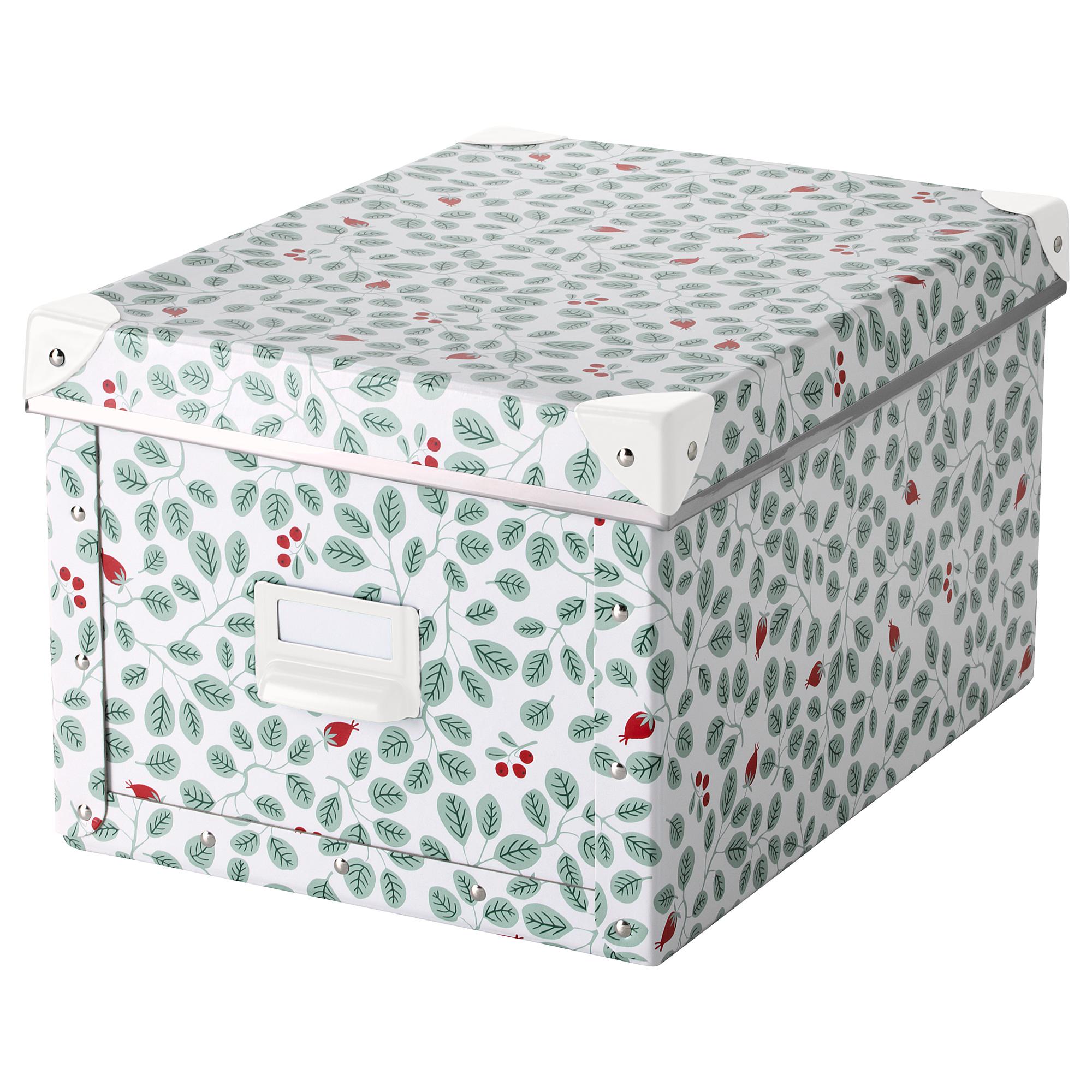 Коробка с крышкой ФЬЕЛЛА зеленый артикуль № 603.991.91 в наличии. Интернет магазин IKEA Беларусь. Недорогая доставка и соборка.