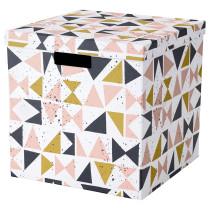 Коробка с крышкой ТЬЕНА черный артикуль № 203.982.16 в наличии. Интернет сайт IKEA РБ. Недорогая доставка и монтаж.