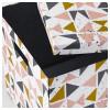 Коробка с крышкой ТЬЕНА черный артикуль № 203.982.16 в наличии. Интернет каталог IKEA РБ. Недорогая доставка и соборка.