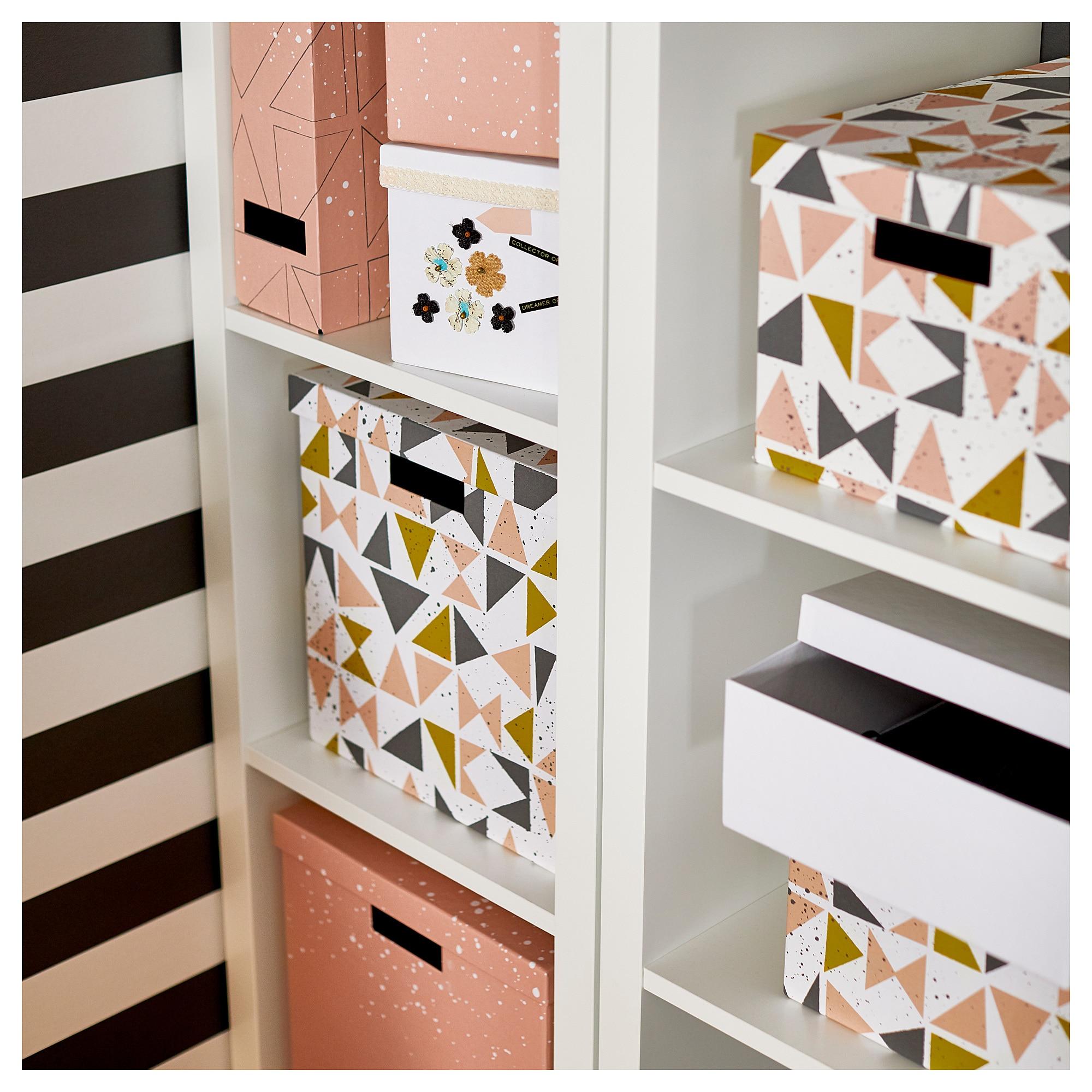Коробка с крышкой ТЬЕНА черный артикуль № 203.982.16 в наличии. Online магазин IKEA РБ. Недорогая доставка и соборка.