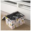 Коробка с крышкой ТЬЕНА черный артикуль № 803.982.18 в наличии. Интернет каталог IKEA Республика Беларусь. Быстрая доставка и установка.