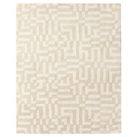 Ковер, длинный ворс ФАКСЭ белый с оттенком артикуль № 703.707.95 в наличии. Интернет магазин IKEA Республика Беларусь. Недорогая доставка и соборка.