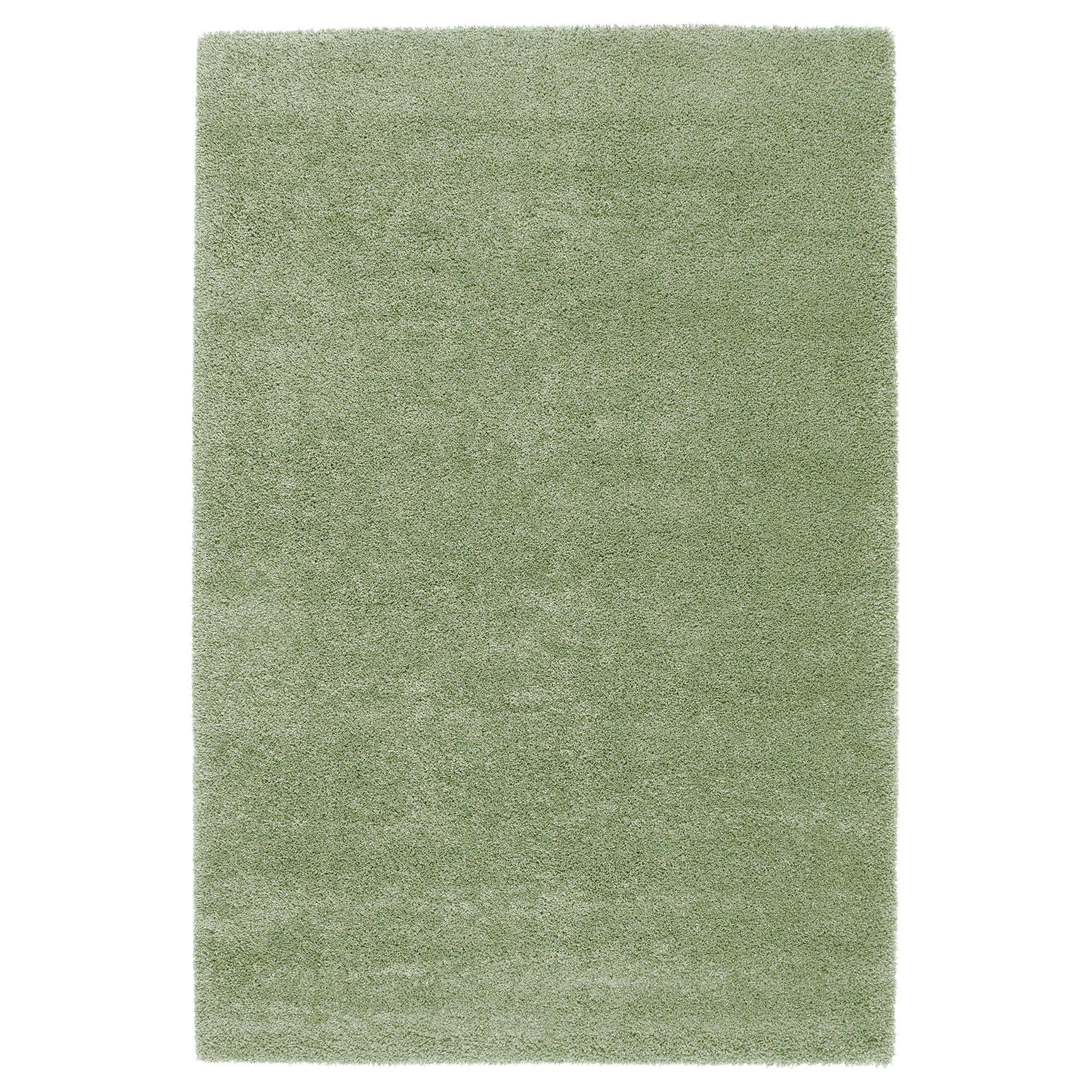 Ковер, длинный ворс ОДУМ светло-зеленый артикуль № 203.709.91 в наличии. Онлайн сайт ИКЕА РБ. Недорогая доставка и установка.