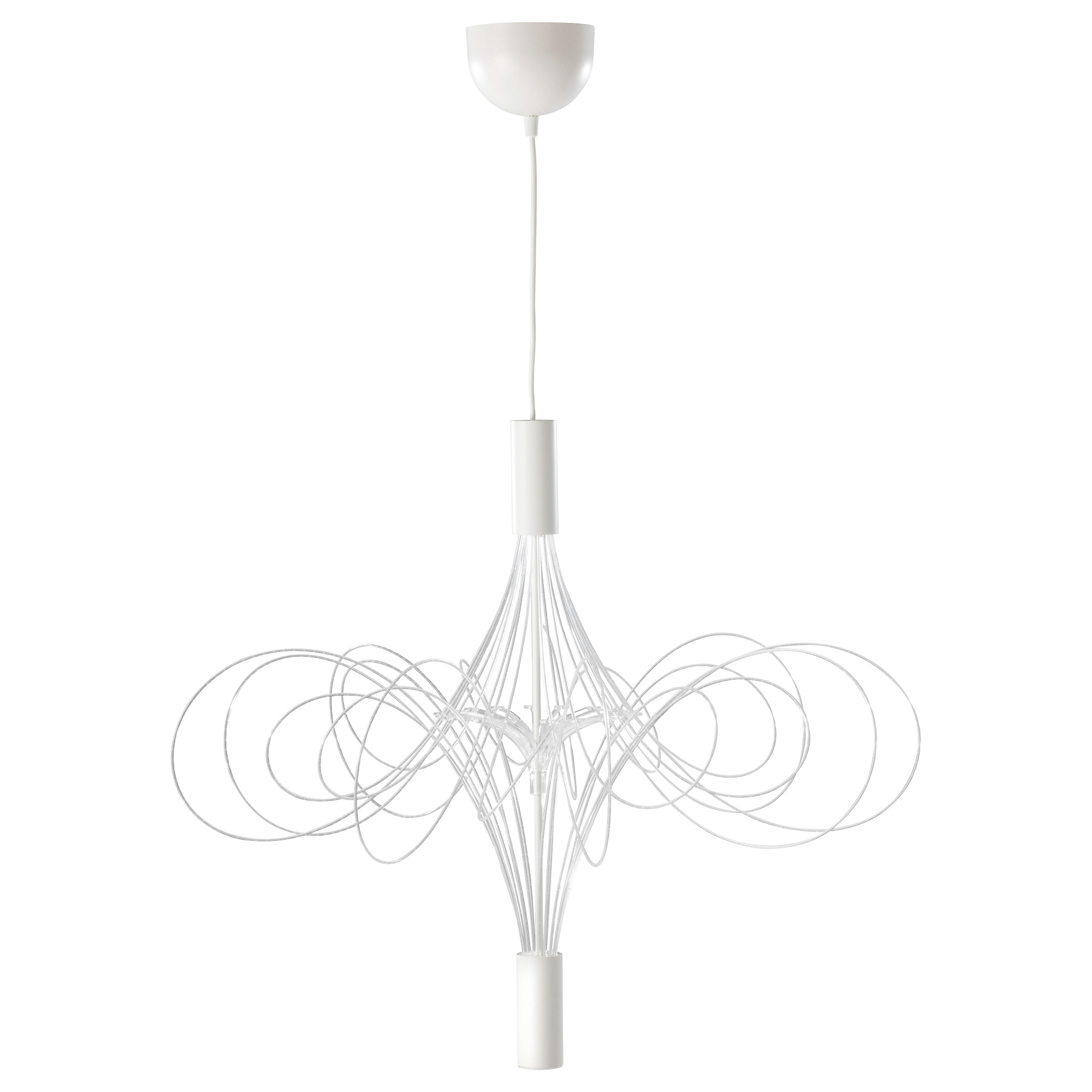 Люстра светодиодная ЭЛЬВСБИН белый артикуль № 103.609.97 в наличии. Онлайн каталог IKEA Республика Беларусь. Быстрая доставка и монтаж.
