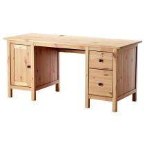 Письменный стол ХЕМНЭС светло-коричневый артикуль № 603.847.88 в наличии. Онлайн сайт ИКЕА Минск. Недорогая доставка и установка.