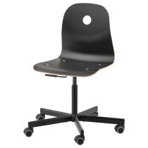 Рабочий стул ВОГСБЕРГ / СПОРРЕН черный артикуль № 992.757.07 в наличии. Интернет сайт IKEA Минск. Быстрая доставка и установка.