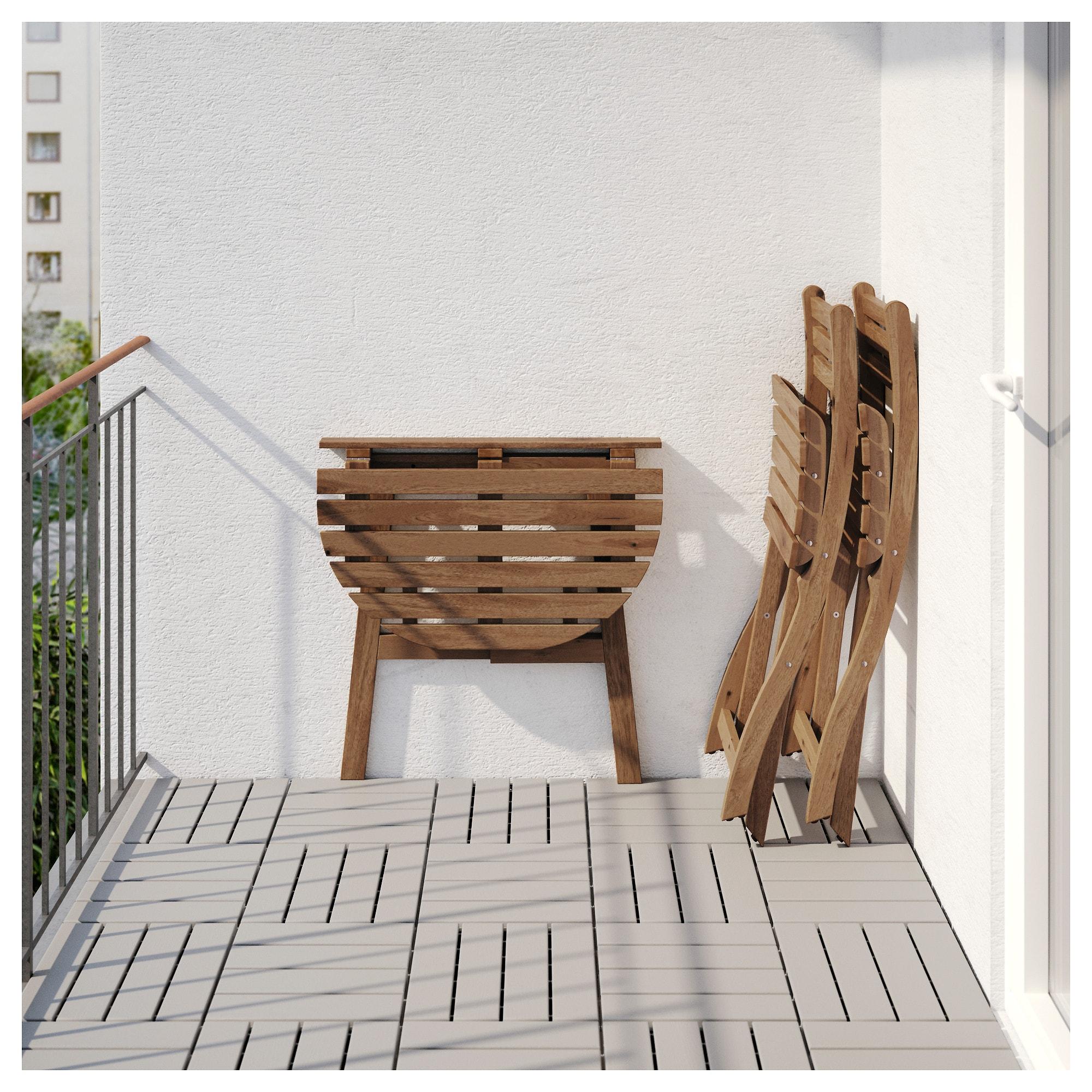 Стол + 2 складных стула, для сада АСКХОЛЬМЕН синий артикуль № 692.288.83 в наличии. Онлайн каталог ИКЕА Республика Беларусь. Быстрая доставка и монтаж.