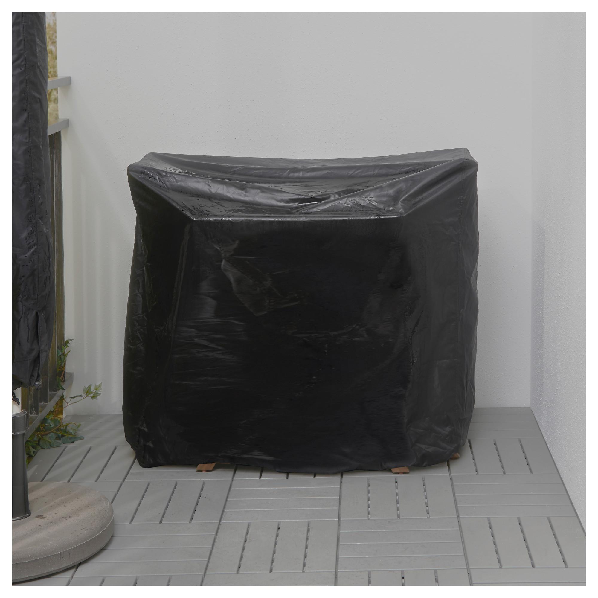 Стол + 2 складных стула для сада ЭПЛАРО черный артикуль № 892.289.24 в наличии. Online каталог ИКЕА Республика Беларусь. Быстрая доставка и установка.