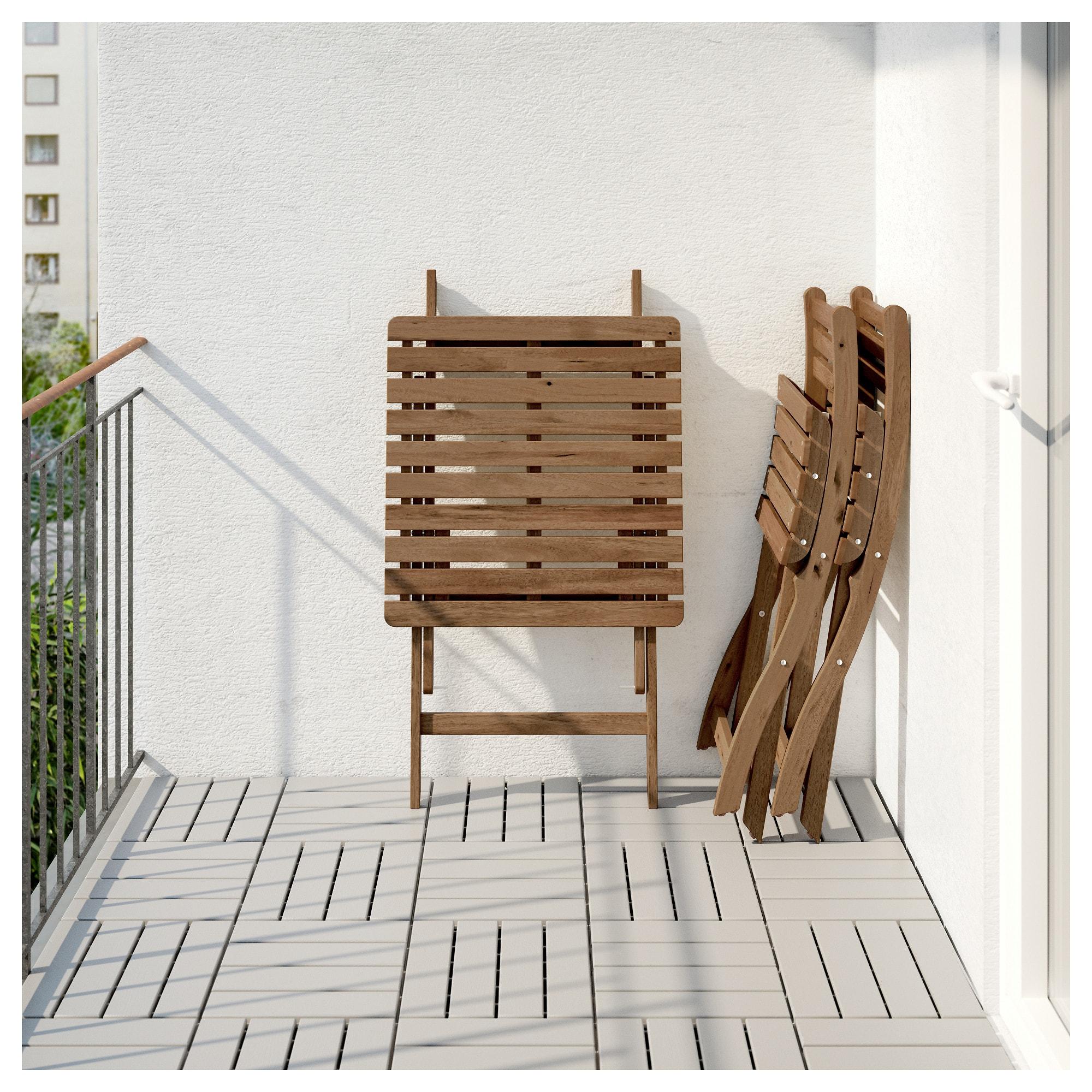 Стол + 2 стула, для сада АСКХОЛЬМЕН синий артикуль № 992.288.86 в наличии. Онлайн магазин IKEA Республика Беларусь. Недорогая доставка и установка.