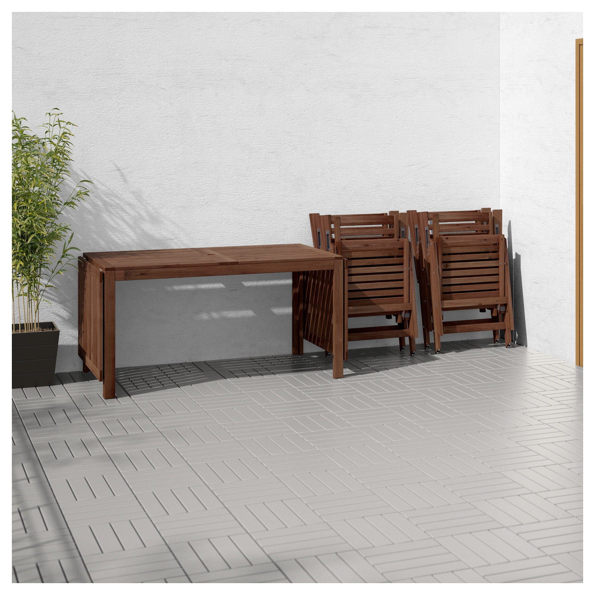 Стол + 4 кресла, для сада ЭПЛАРО бежевый артикуль № 692.289.44 в наличии. Online магазин IKEA РБ. Недорогая доставка и соборка.