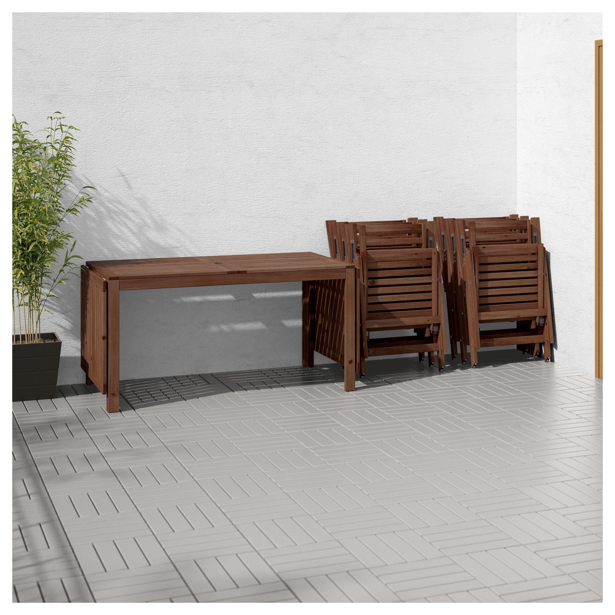 Стол, 6 кресел для сада ЭПЛАРО бежевый артикуль № 292.289.55 в наличии. Онлайн каталог IKEA РБ. Быстрая доставка и соборка.