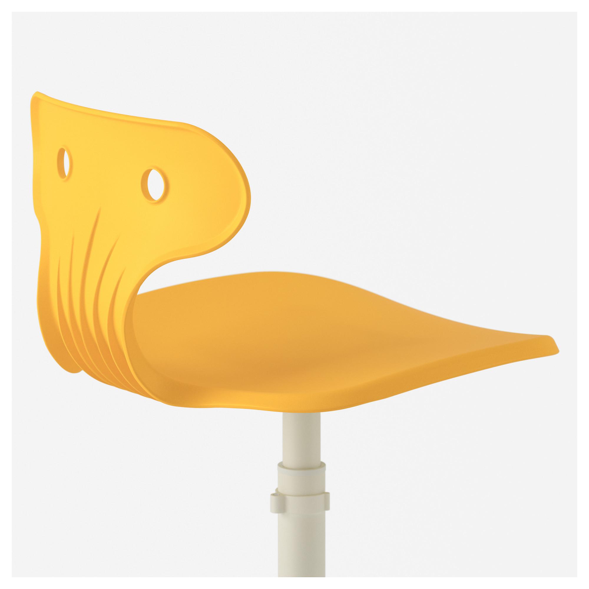 Стул для письменного стола МОЛЬТЕ желтый артикуль № 603.849.72 в наличии. Онлайн магазин ИКЕА РБ. Недорогая доставка и установка.
