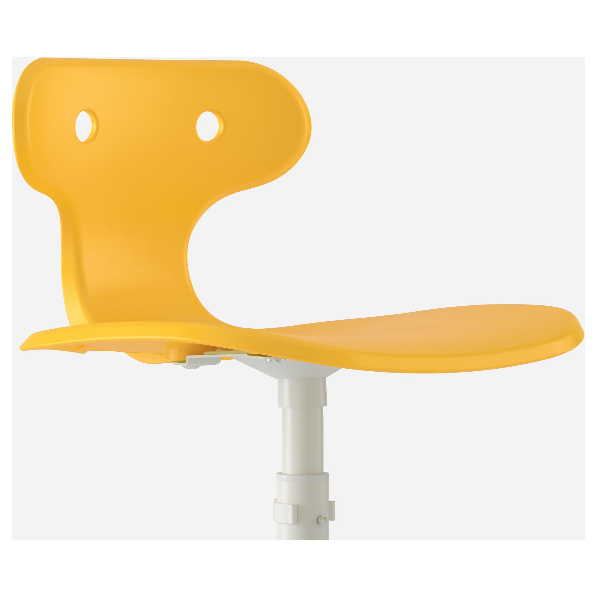 Стул для письменного стола МОЛЬТЕ желтый артикуль № 603.849.72 в наличии. Интернет магазин ИКЕА Минск. Быстрая доставка и установка.