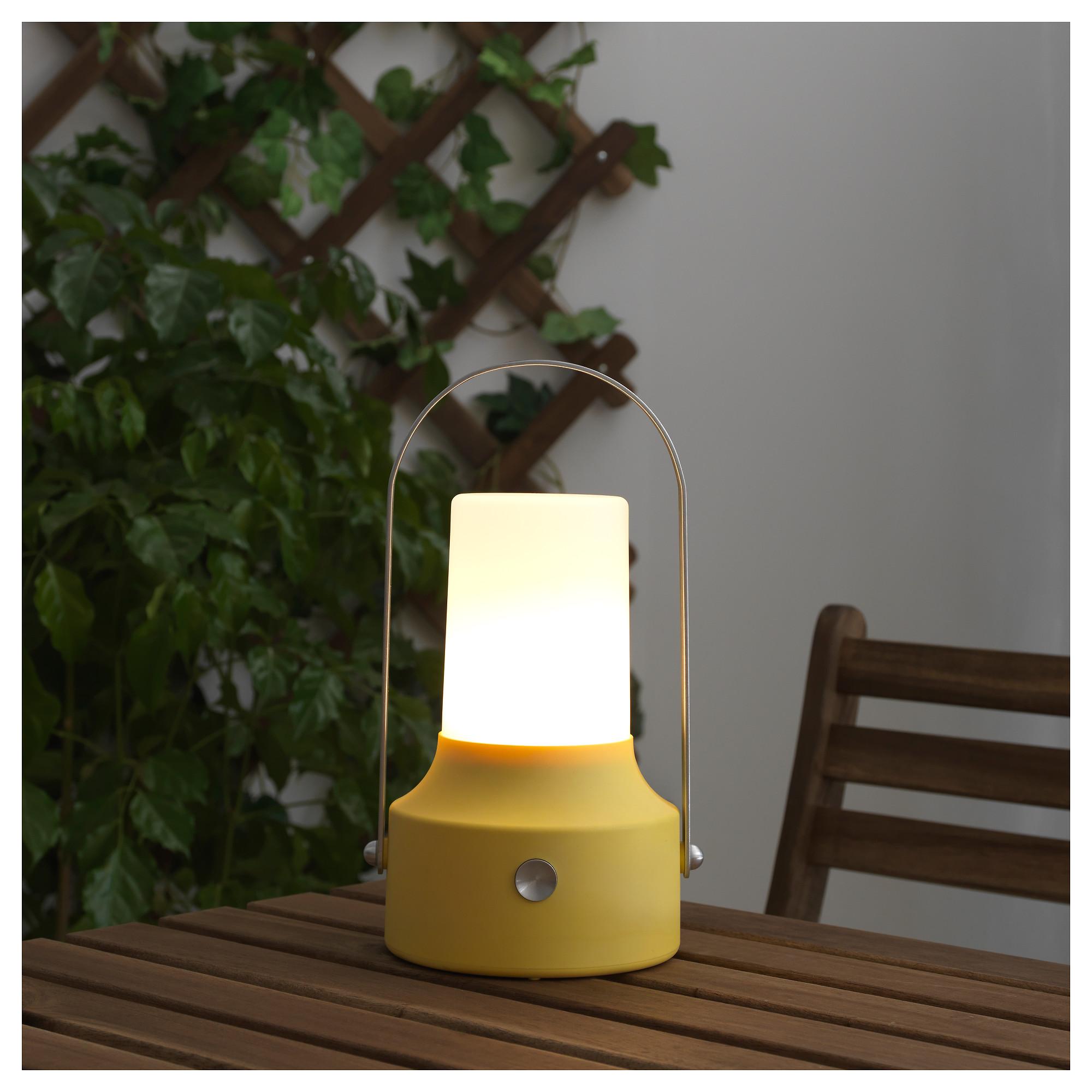 Светодиодный фонарь/солнечн батарея СОЛВИДЕН желтый артикуль № 403.832.09 в наличии. Интернет каталог IKEA РБ. Быстрая доставка и монтаж.