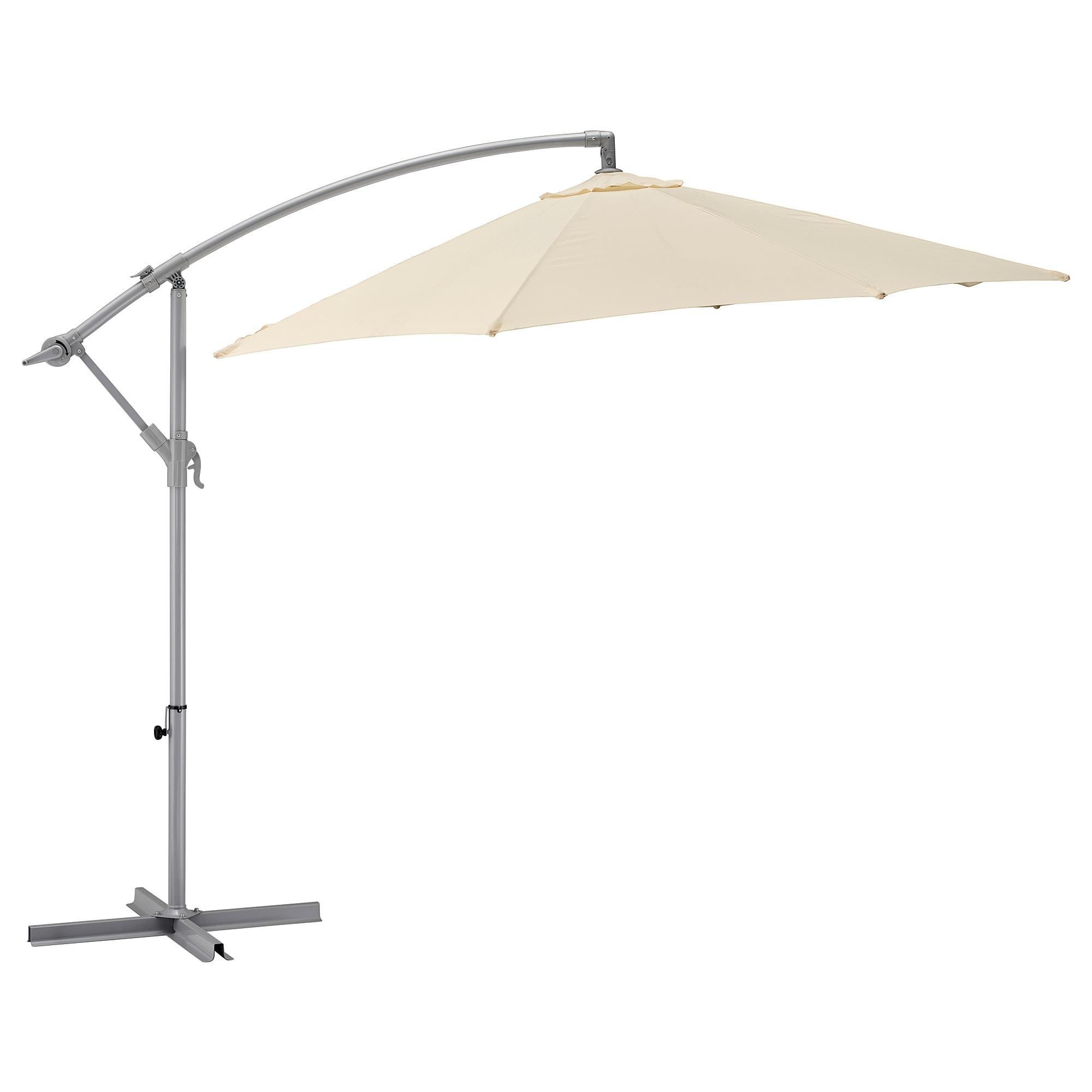 Зонт от солнца, подвесной КАРЛСЭ бежевый артикуль № 503.761.14 в наличии. Онлайн магазин ИКЕА Минск. Быстрая доставка и монтаж.