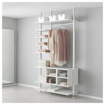 2 секции ЭЛВАРЛИ белый артикуль № 192.039.79 в наличии. Онлайн сайт IKEA Республика Беларусь. Быстрая доставка и соборка.