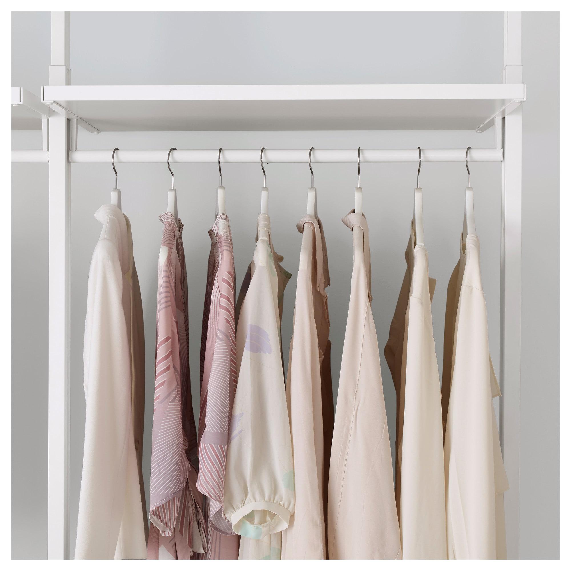 2 секции ЭЛВАРЛИ белый артикуль № 192.039.79 в наличии. Online сайт IKEA РБ. Недорогая доставка и монтаж.