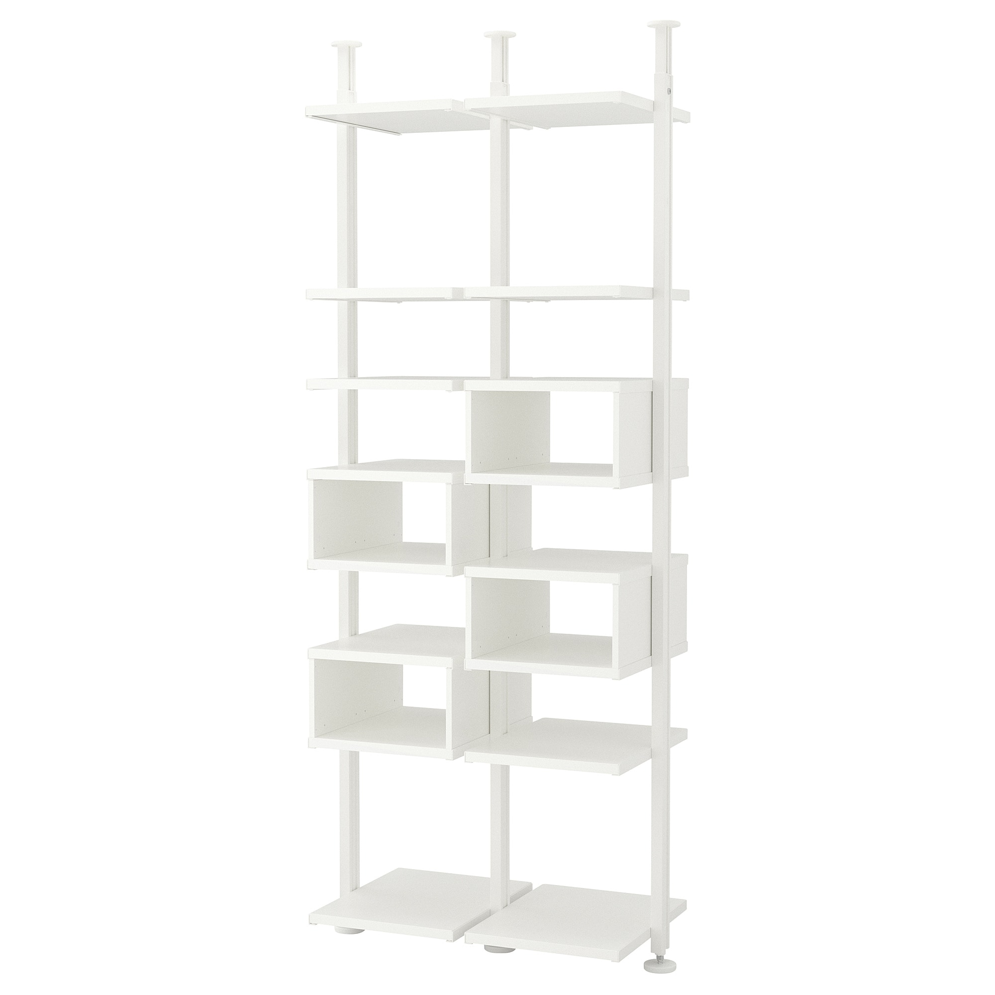 2 секции ЭЛВАРЛИ белый артикуль № 292.517.76 в наличии. Онлайн сайт IKEA Беларусь. Недорогая доставка и монтаж.