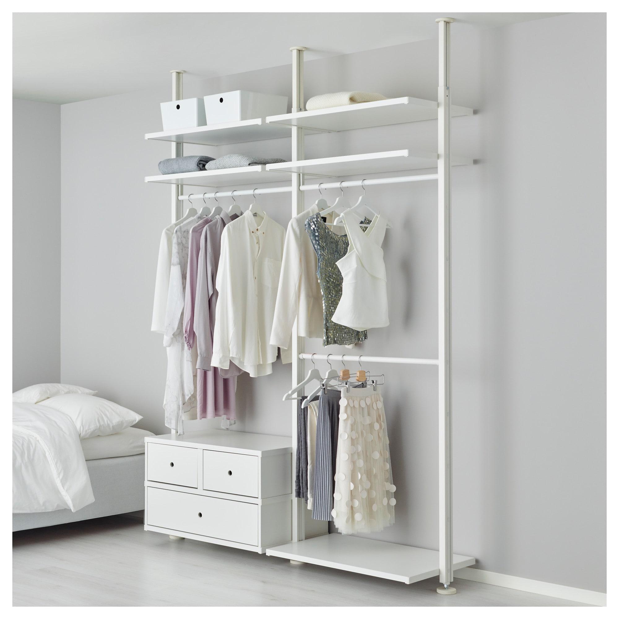 2 секции ЭЛВАРЛИ белый артикуль № 692.040.09 в наличии. Онлайн сайт IKEA Минск. Недорогая доставка и соборка.