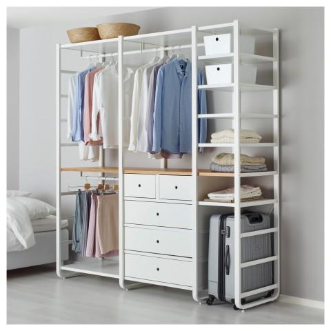 3 секции ЭЛВАРЛИ белый артикуль № 892.040.08 в наличии. Онлайн каталог IKEA Беларусь. Недорогая доставка и установка.