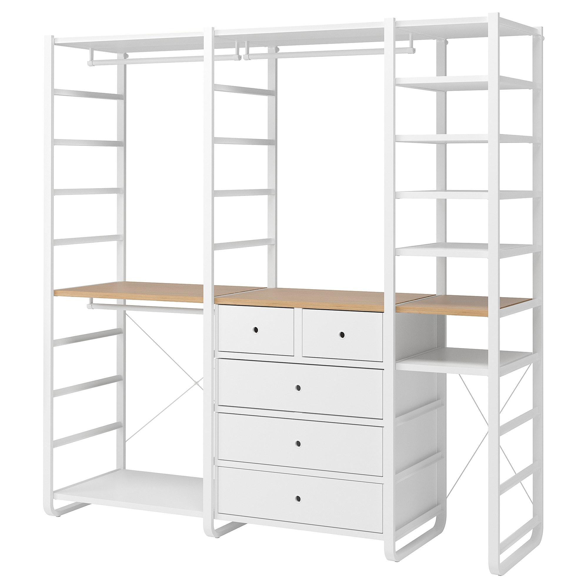 3 секции ЭЛВАРЛИ белый артикуль № 892.040.08 в наличии. Интернет магазин IKEA Республика Беларусь. Быстрая доставка и соборка.