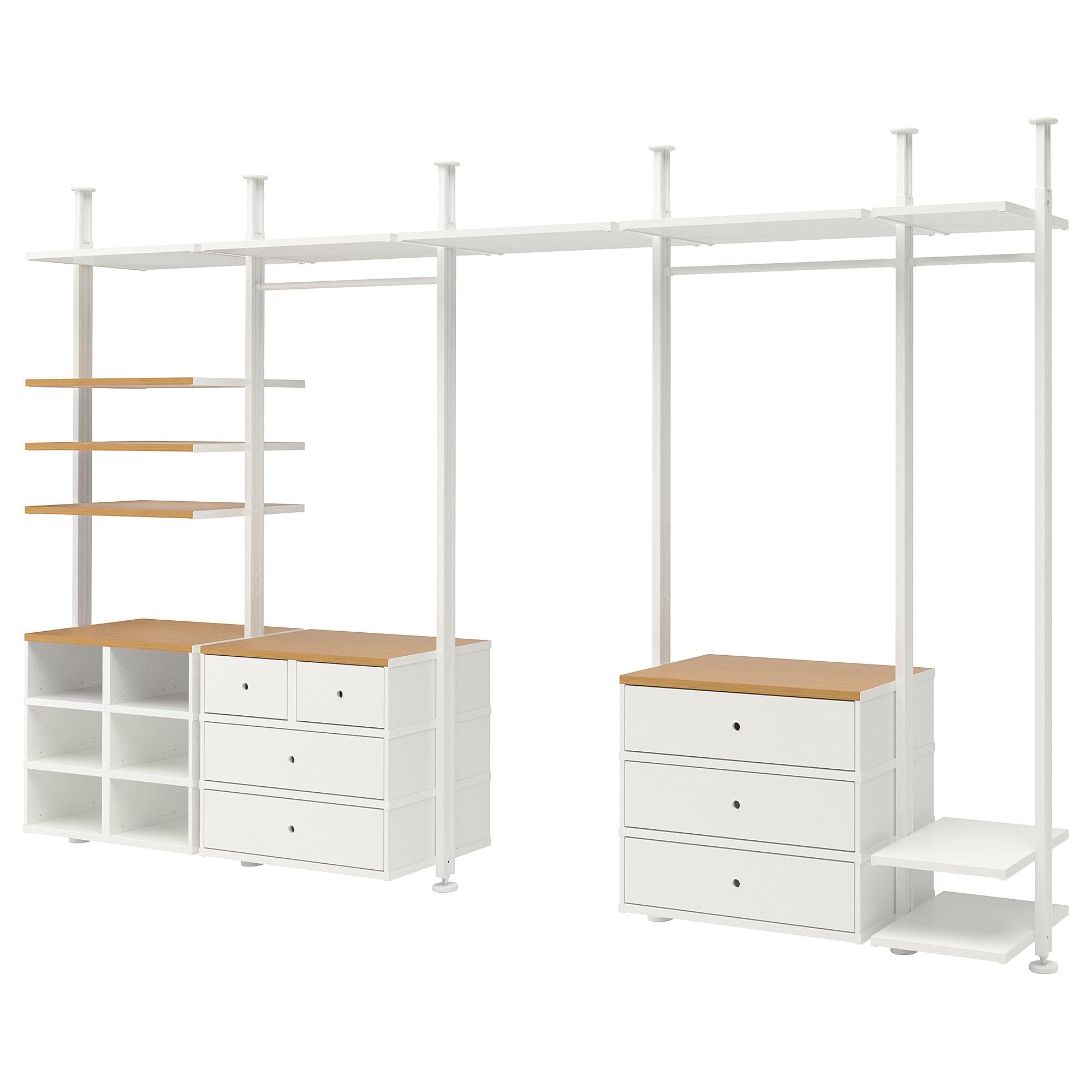 5 секций ЭЛВАРЛИ белый артикуль № 992.517.73 в наличии. Онлайн каталог IKEA Беларусь. Недорогая доставка и установка.