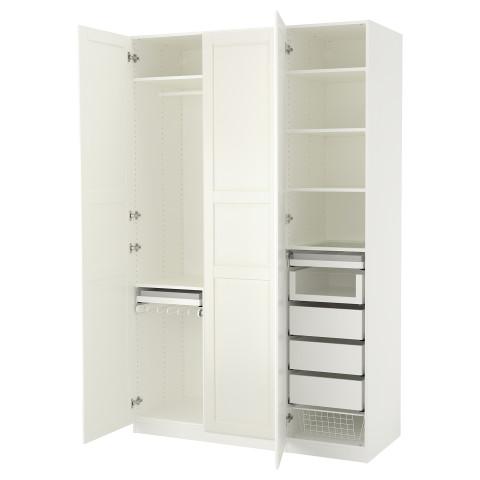 Гардероб ПАКС белый артикуль № 192.649.63 в наличии. Интернет сайт IKEA Республика Беларусь. Недорогая доставка и монтаж.