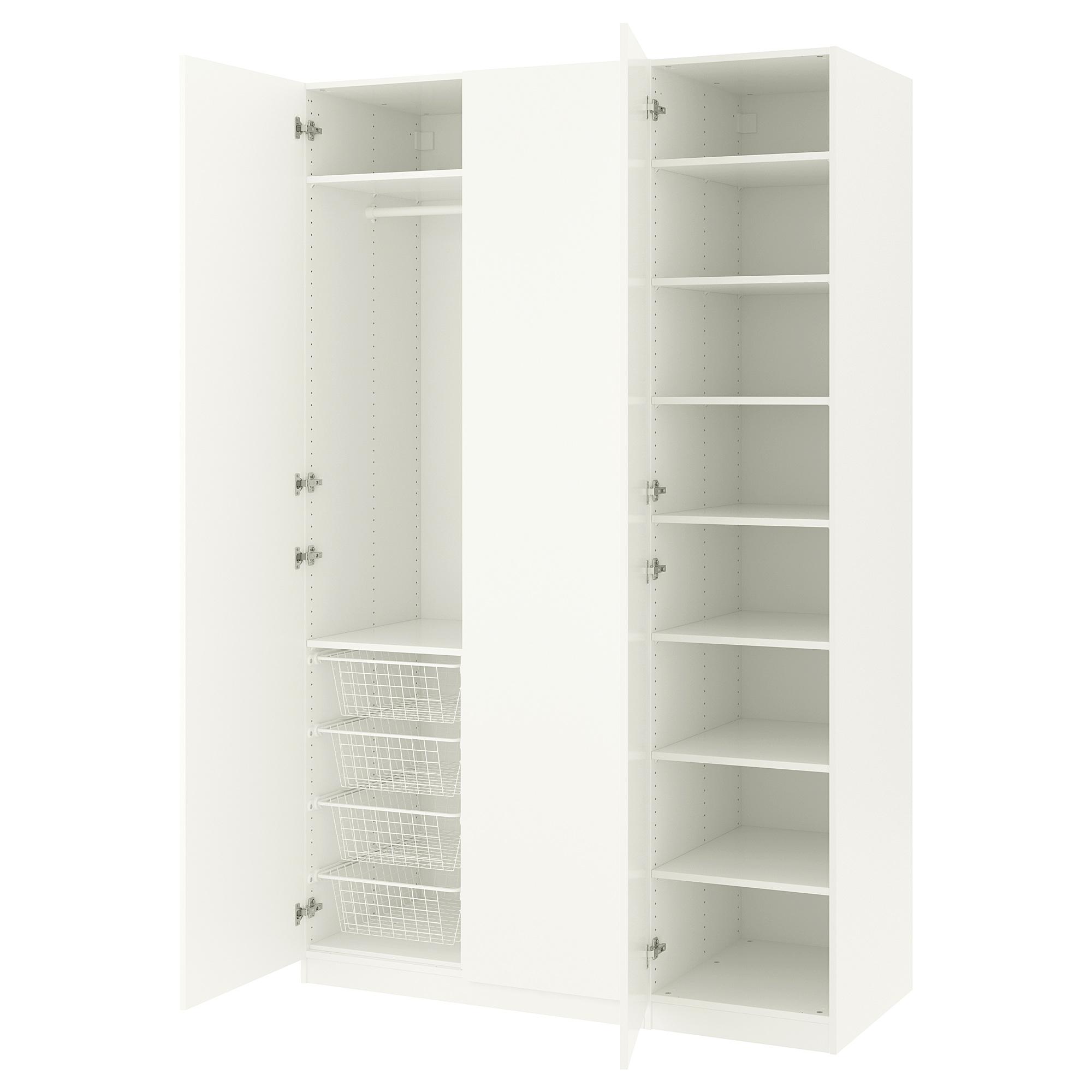 Гардероб ПАКС белый артикуль № 692.464.67 в наличии. Online сайт IKEA РБ. Быстрая доставка и монтаж.